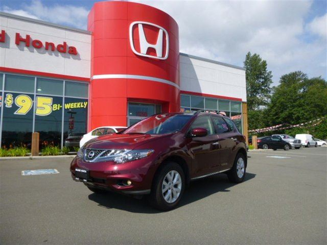 2012 Nissan Murano SV**10 out of 10-Local-1 Owner** in Courtenay, British Columbia