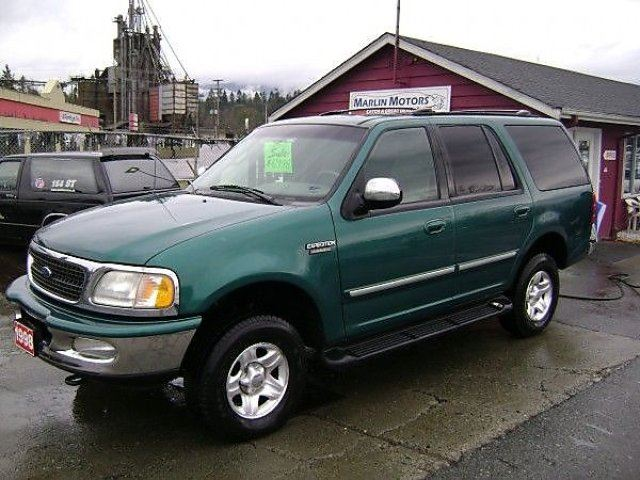 1998 Ford Expedition Eddie Bauer 4wd Green Marlin Motors