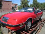 1989 Chrysler Le Baron Premium convertible in Koksilah, British Columbia