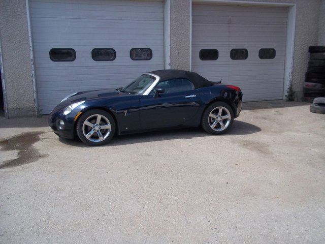 2008 pontiac solstice gxp 2dr convertible dark blue. Black Bedroom Furniture Sets. Home Design Ideas