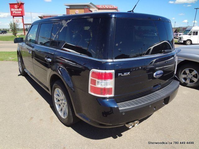 2009 ford flex sel sherwood park alberta used car for. Black Bedroom Furniture Sets. Home Design Ideas