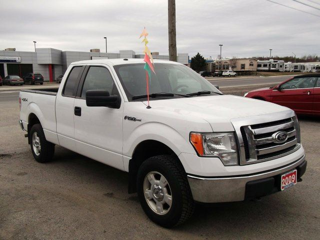 2009 ford f 150 xlt 4x4 supercab 145 in sudbury ontario. Black Bedroom Furniture Sets. Home Design Ideas