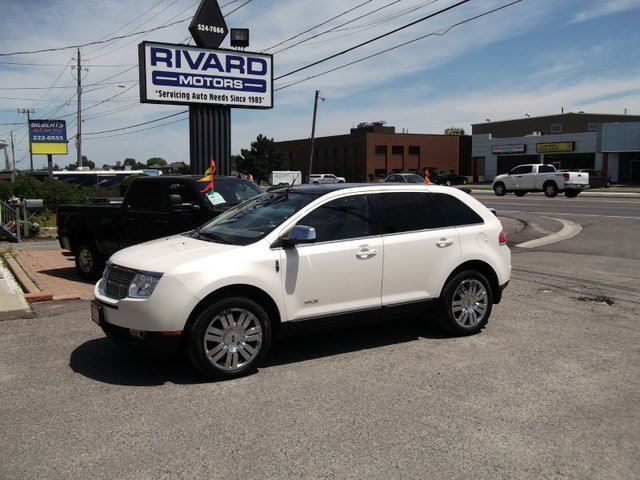 2008 lincoln mkx awd white rivard motors. Black Bedroom Furniture Sets. Home Design Ideas