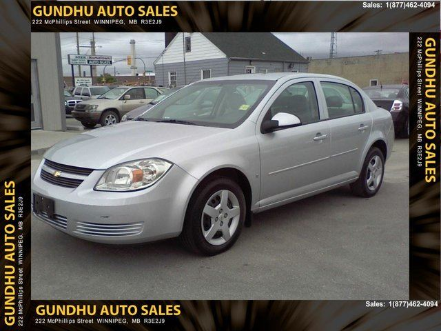 2008 chevrolet cobalt lt sedan grey gundhu auto sales. Black Bedroom Furniture Sets. Home Design Ideas