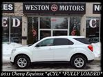 2011 Chevrolet Equinox 4CYL*FULLY LOADED*AMAZING SHAPE*OFF LEASE*ALLOY WHEELS in York, Ontario