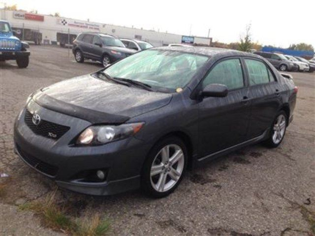 2010 toyota corolla xrs calgary alberta used car for. Black Bedroom Furniture Sets. Home Design Ideas