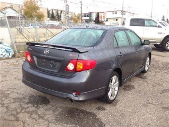 2010 toyota corolla xrs calgary alberta used car for sale 1419427. Black Bedroom Furniture Sets. Home Design Ideas