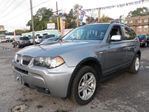 2006 BMW X3 3.0i Panoramic Roof Package in Scarborough, Ontario