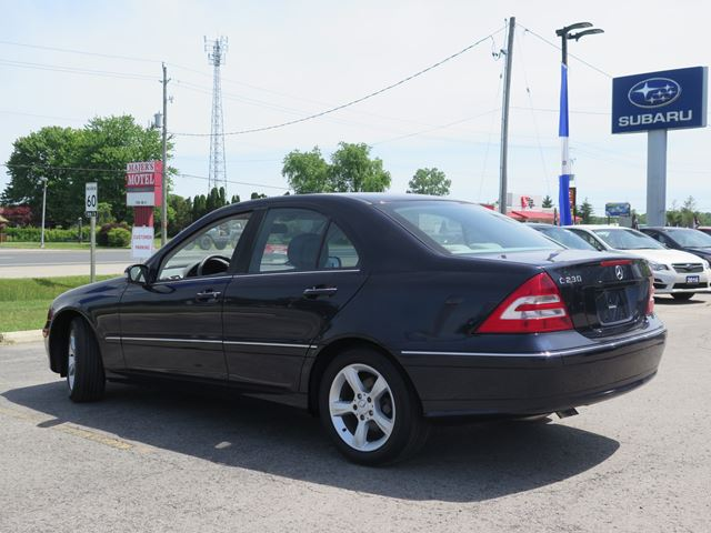 2007 mercedes benz c class c230 stratford ontario car for 2007 mercedes benz c class c230