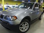 2006 BMW X3 AWD/ LEATHER/SUNROOF in North York, Ontario