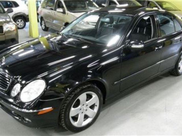 Vehicle details for 2004 mercedes benz e class e320