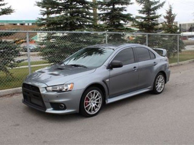 2012 Mitsubishi Lancer EVO GSR! LOW KMS! NEW! - Calgary, Alberta Used Car For Sale - 1453942