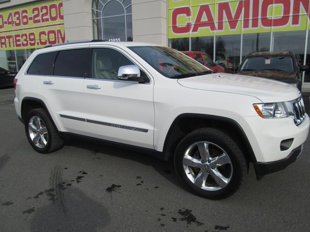2012 jeep grand cherokee overland saint jerome quebec used car for sale 1458723. Black Bedroom Furniture Sets. Home Design Ideas