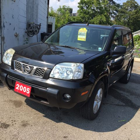 2005 nissan x trail xe black west hill auto sales. Black Bedroom Furniture Sets. Home Design Ideas