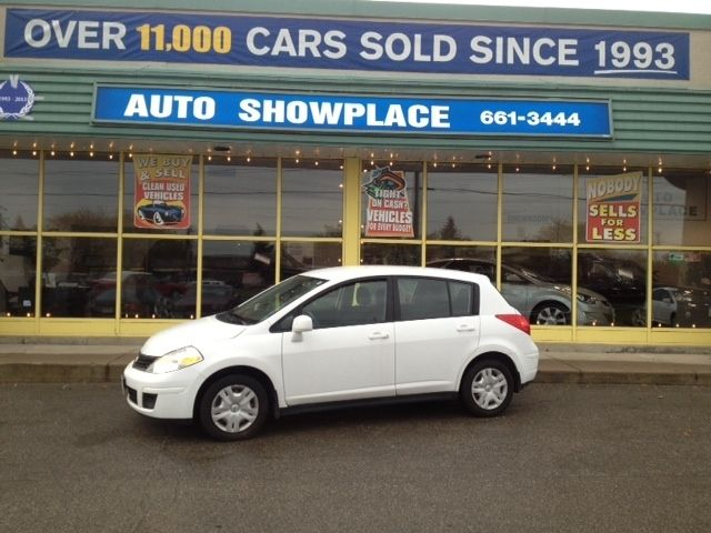 Nissan Dealer Richmond Ca 2012 Nissan Versa ONLY 55,644 KMS, NO ACCIDENTS White ...