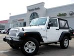 2014 Jeep Wrangler Sport 4X4 MANUAL CLEANCAR PROOF SOFT TOP LOW KMS in Thornhill, Ontario