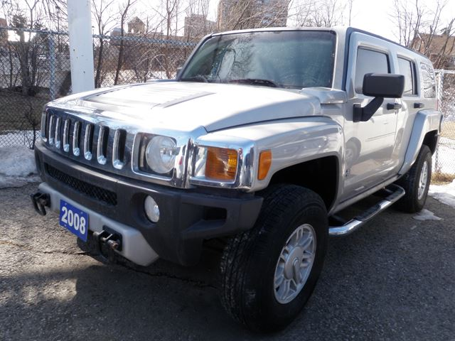 2008 hummer h3 suv 4x4 silver peters auto sales. Black Bedroom Furniture Sets. Home Design Ideas