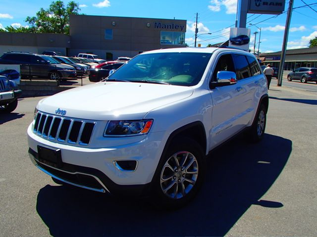 2014 jeep grand cherokee limited white manley motors for Manley motors used cars