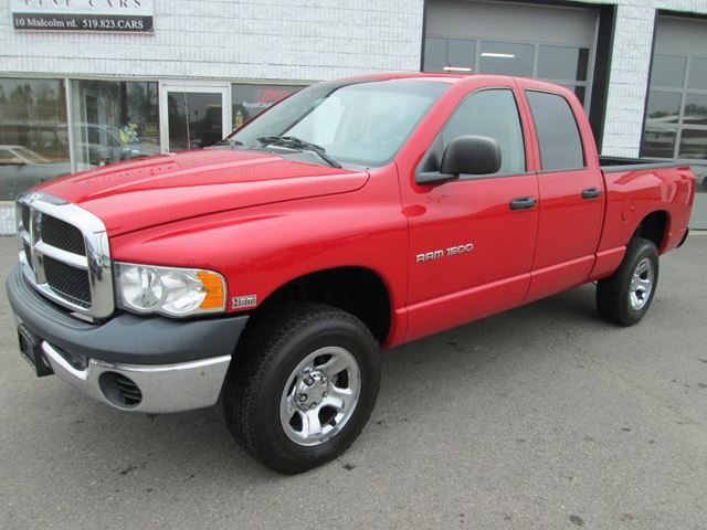 2005 dodge ram 1500 4x4 5 7 hemi guelph ontario used. Black Bedroom Furniture Sets. Home Design Ideas