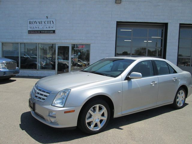 2006 cadillac sts sts 4 silver royal city fine cars. Black Bedroom Furniture Sets. Home Design Ideas