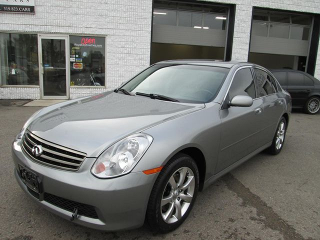 2006 infiniti g35 x guelph ontario used car for sale 1490581. Black Bedroom Furniture Sets. Home Design Ideas