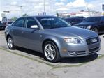 2007 Audi A4 2.0T-QUATTRO-LEATHER-SUNROOF in Calgary, Alberta