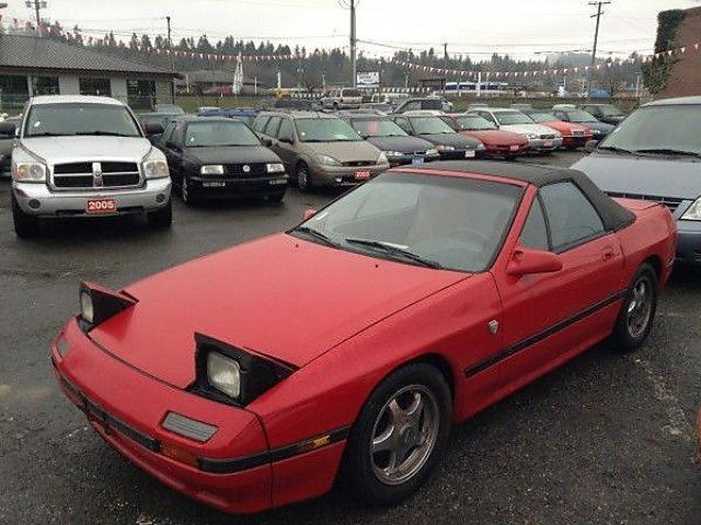 1988 MAZDA RX-7 Convertible in Koksilah, British Columbia