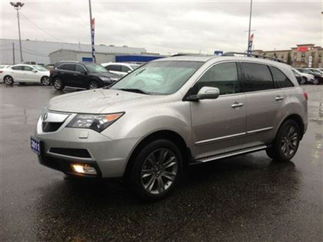 2011 acura mdx elite pkg low kms local no accidents 300. Black Bedroom Furniture Sets. Home Design Ideas