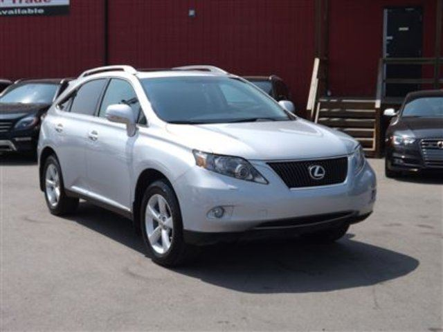 2010 LEXUS RX 350 AWD/B.CAM/SUNROOF/LEATHER in Calgary, Alberta