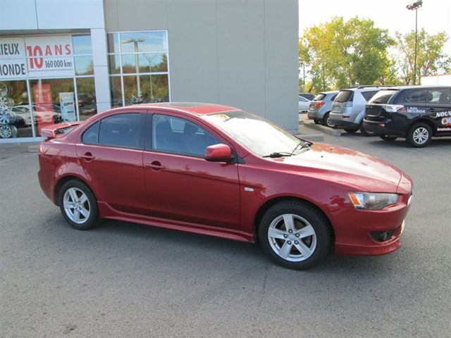 2009 mitsubishi lancer se laval quebec car for sale. Black Bedroom Furniture Sets. Home Design Ideas