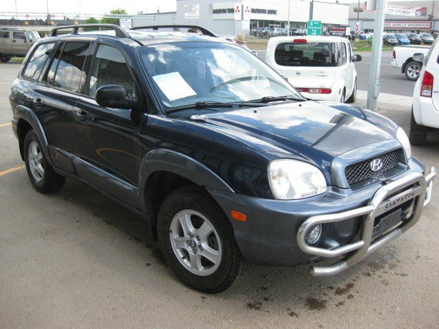 2004 hyundai santa fe gls 3 5l all wheel drive blue. Black Bedroom Furniture Sets. Home Design Ideas