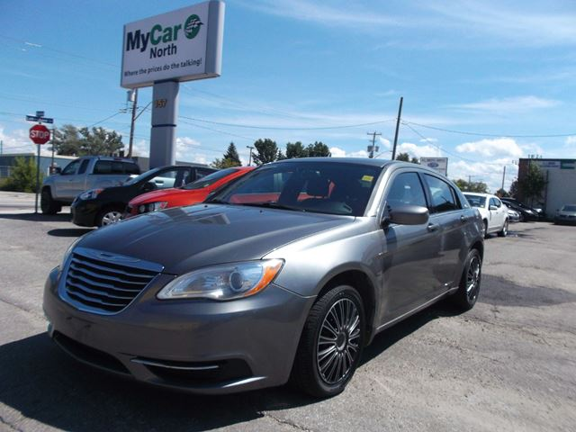 2012 chrysler 200 lx grey my car north bay. Black Bedroom Furniture Sets. Home Design Ideas