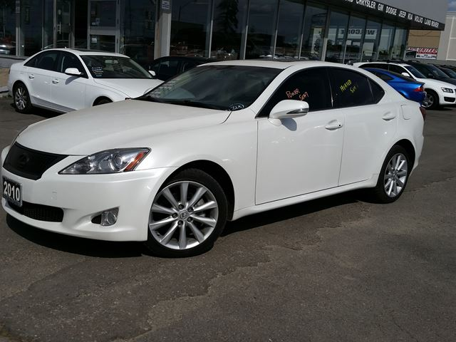 2010 lexus is 250 white br auto sales. Black Bedroom Furniture Sets. Home Design Ideas