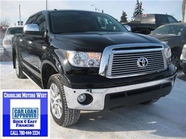 2013 Toyota Tundra Platinum   Heated/AC Leather   5.7L V8 in Edmonton, Alberta