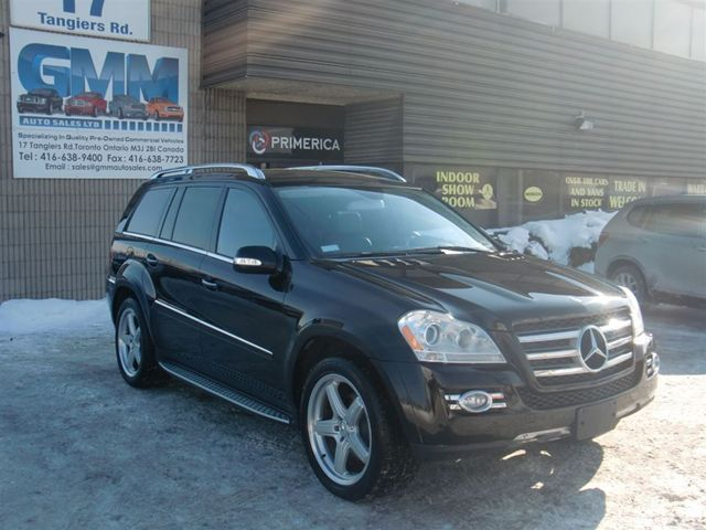 2008 mercedes benz gl class gl550 amg 4matic w dvd headrest and bluetooth black gmm auto. Black Bedroom Furniture Sets. Home Design Ideas
