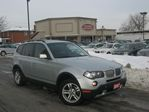 2007 BMW X3 3.0L AWD NO ACCIDENT DUAL DVD in Scarborough, Ontario