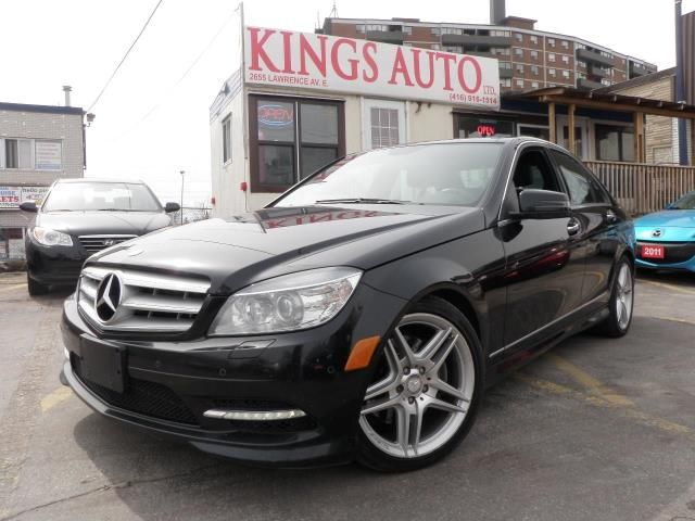 2011 mercedes benz c class c350 4 matic navigation for Mercedes benz top of the line