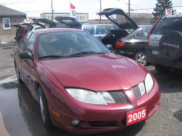 2005 pontiac sunfire low mileage loaded auto 6m wrty. Black Bedroom Furniture Sets. Home Design Ideas