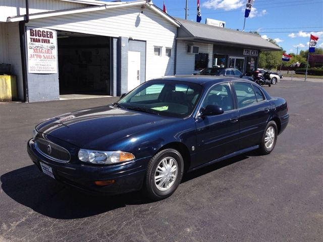 2004 buick lesabre custom we finance blue niagara. Black Bedroom Furniture Sets. Home Design Ideas