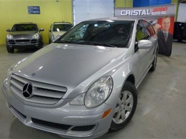 Vehicle details for 2006 mercedes benz r class r350