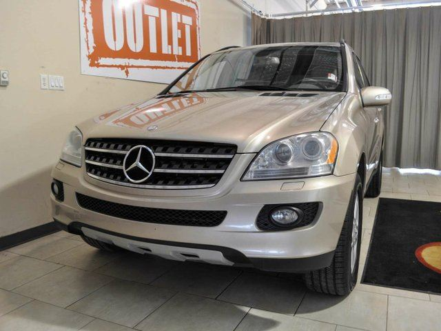 2007 mercedes benz m class ml320 4matic edmonton for 2007 mercedes benz m class