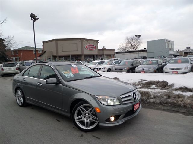 2010 mercedes benz c class c350 4matic navigation for Mercedes benz scarborough