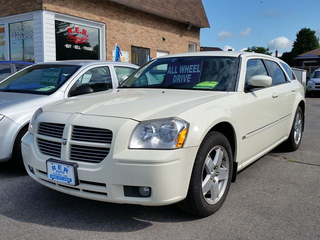 2005 dodge magnum sxt white rer automobiles. Black Bedroom Furniture Sets. Home Design Ideas