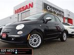 2013 Fiat 500 Lounge Leather Bluetooth in Orangeville, Ontario
