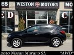 2010 Nissan Murano **SL**AWD**ACCIDENTFREE**NEWTIRES** in York, Ontario