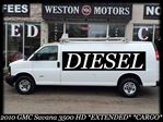 2010 GMC Savana 3500 HD VERY RARE*EXT*DIESEL*SHELVING*ROOF RACKS in York, Ontario