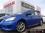 2014 Nissan Sentra 1.8 SR Navigation Bluetooth Alloys USED DE in Orangeville, Ontario