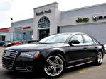 2014 Audi A8 3.0L TDI AWD NAV BACKUP CAM LEATHER SUNROOF DRIVER ASSIST in Thornhill, Ontario