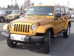 2014 Jeep Wrangler Sport Utility 4x4 SAHARA in Langley, British Columbia