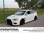2012 Mitsubishi Lancer EVO GSR! MODIFIED! LOW KMS! WHITE! in Calgary, Alberta